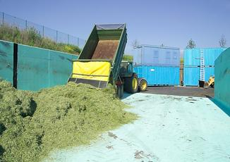 Storage and preparation of grass silage