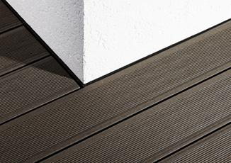 'Terrace Profile' extruded decking