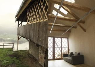 Präz: renovation of house and stable, Graubünden (CH) architectural practice Ivo Bösch, Thomas Wirz